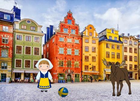 Evadez-vous avec le mois de la Suède sur HamsterStory !